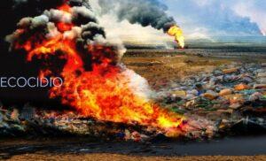 ecocidio en el medio ambiente