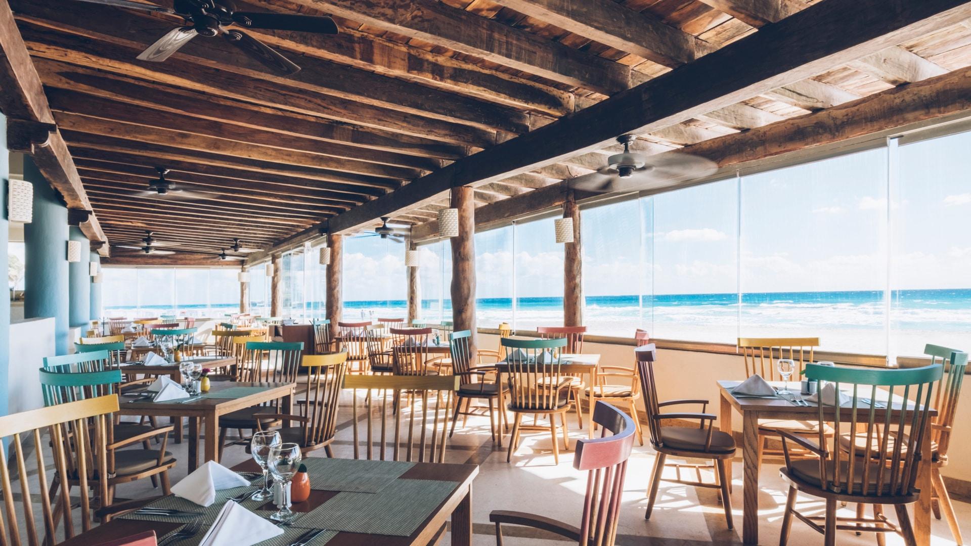 hoteles y restaurantes de Cancún